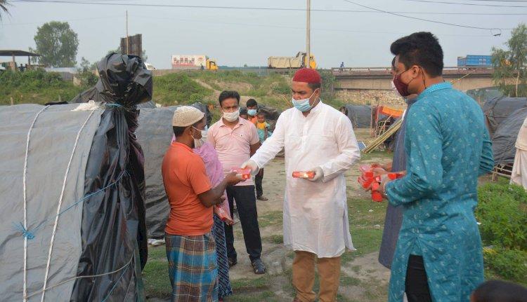 রংপুর জেলা ছাত্রলীগের মাসব্যাপী ইফতার বিতরন শুরু